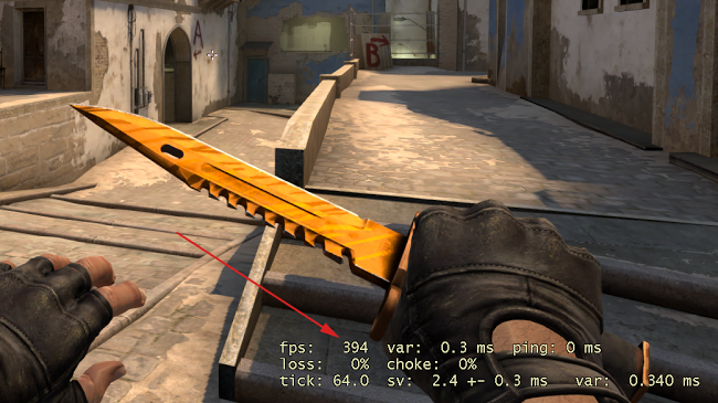 FPS Count in counter strike